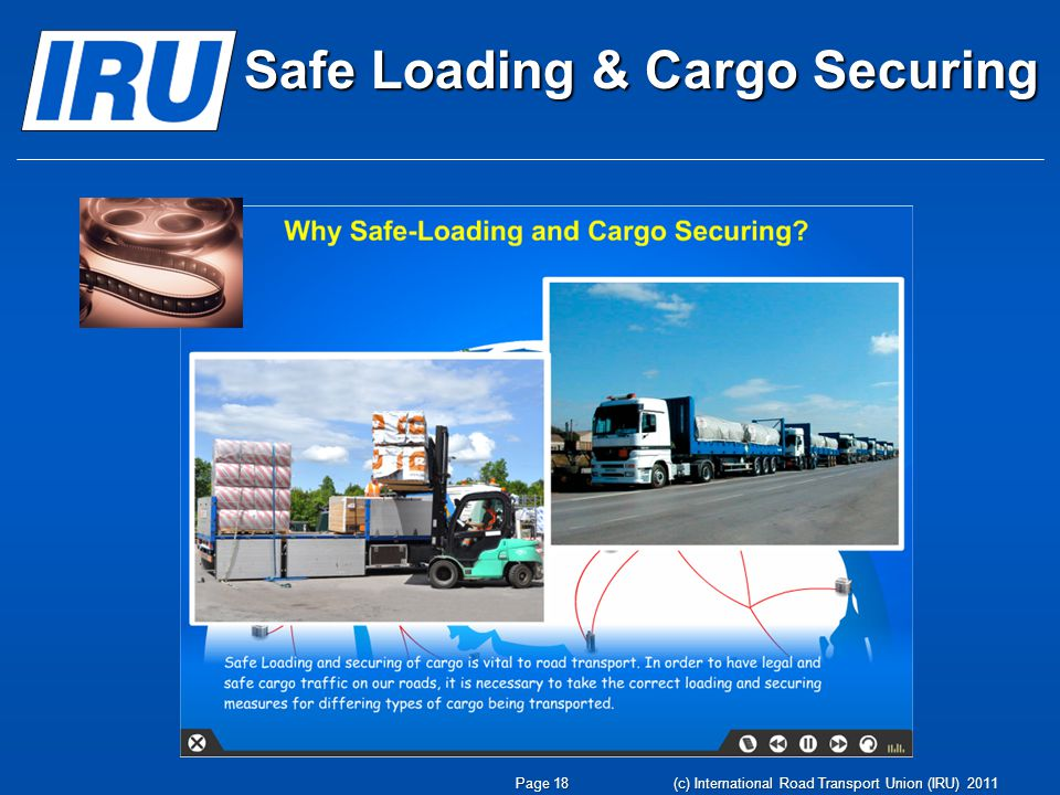 Safe Loading & Cargo Securing