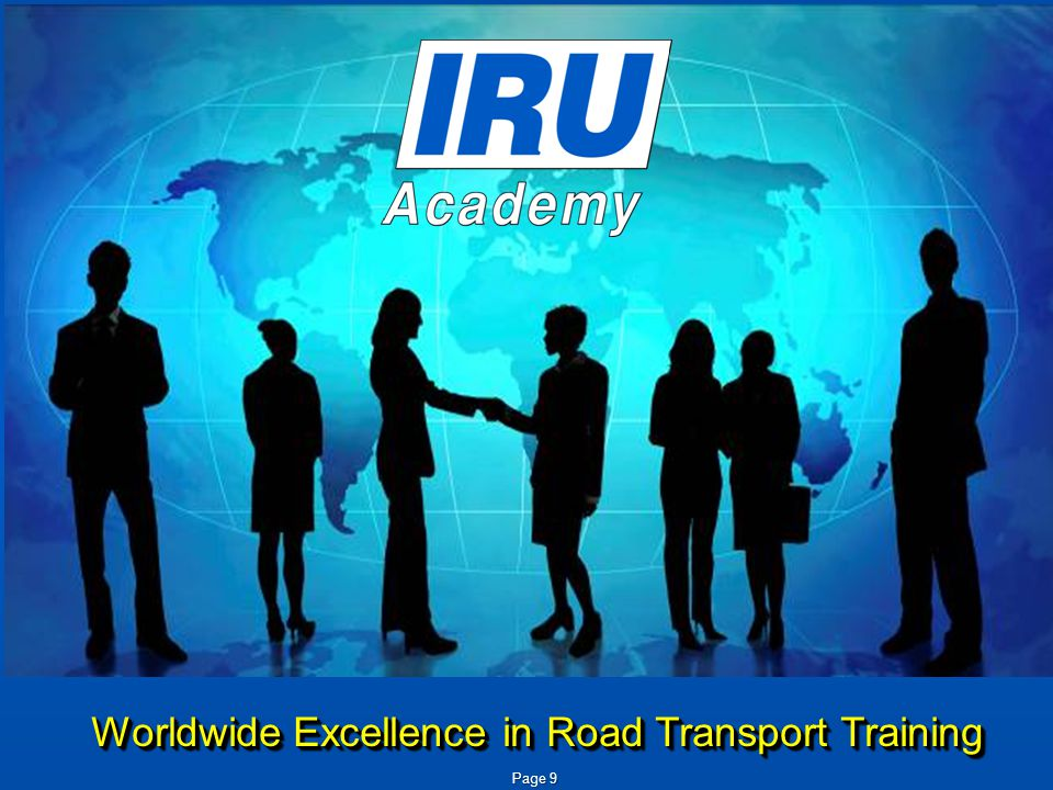 Worldwide Excellence in Road Transport Training