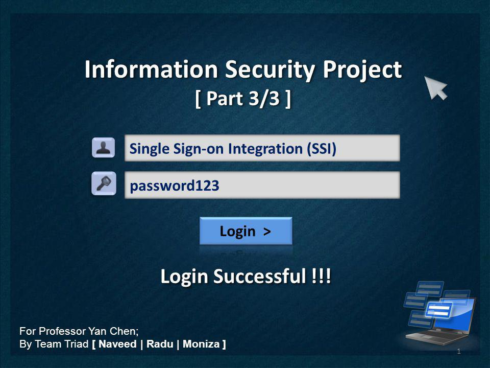 Single Sign-on Integration (SSI)