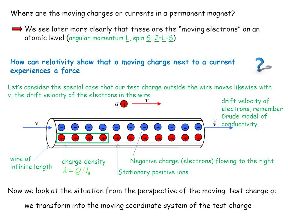 Where are the moving charges or currents in a permanent magnet