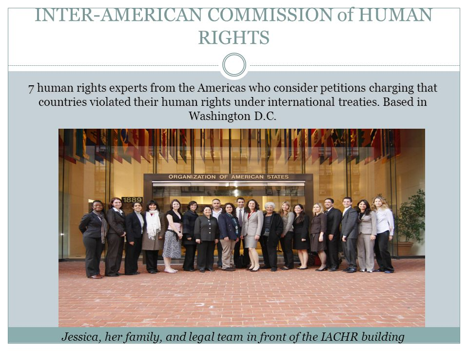 INTER-AMERICAN COMMISSION of HUMAN RIGHTS