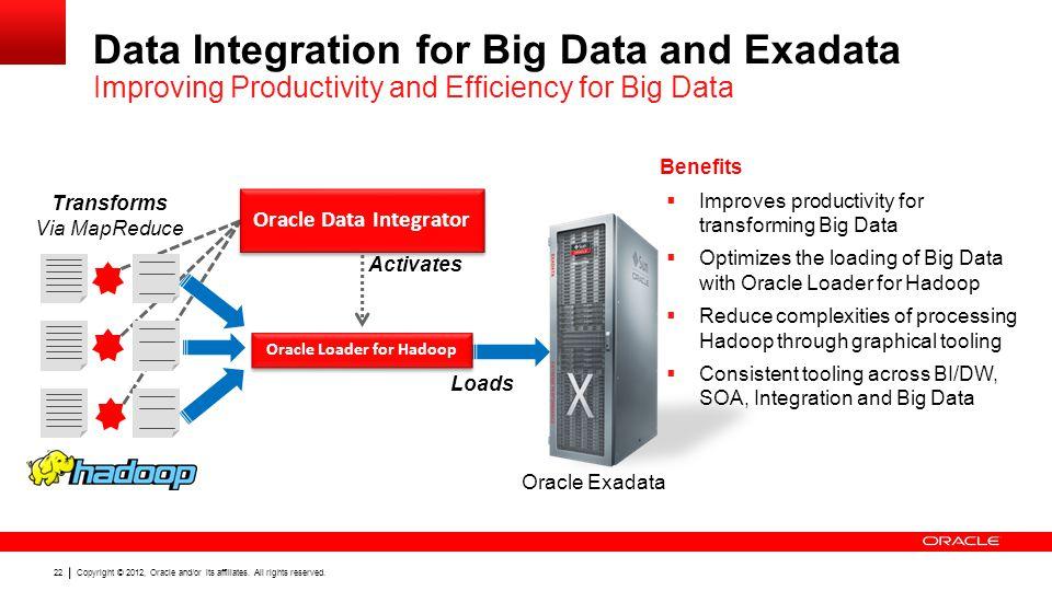 Oracle Data Integrator Oracle Loader for Hadoop