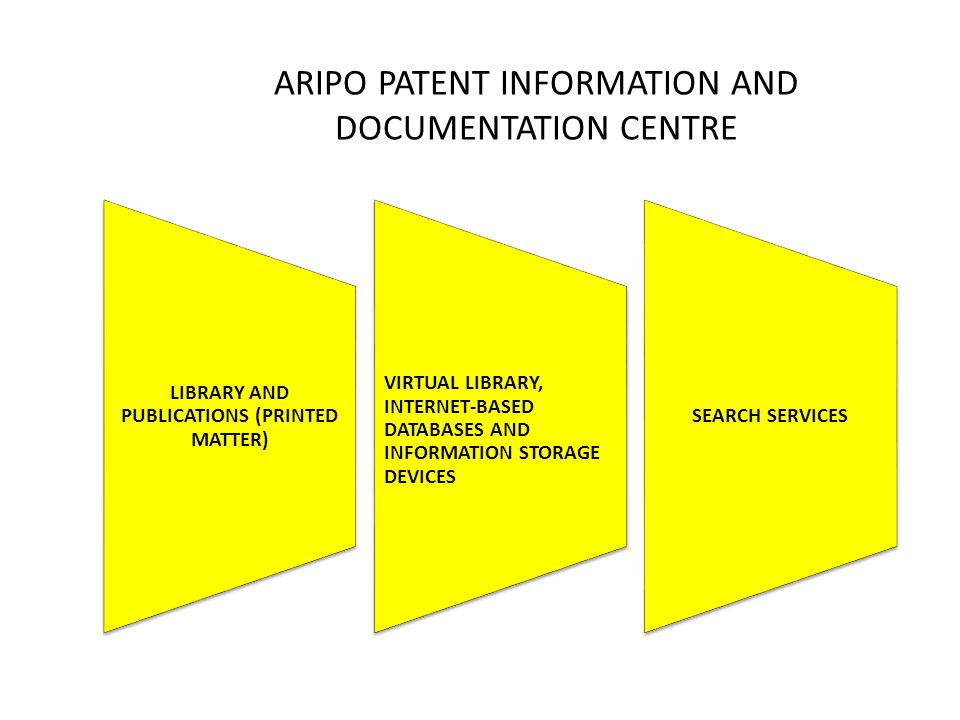 ARIPO PATENT INFORMATION AND DOCUMENTATION CENTRE