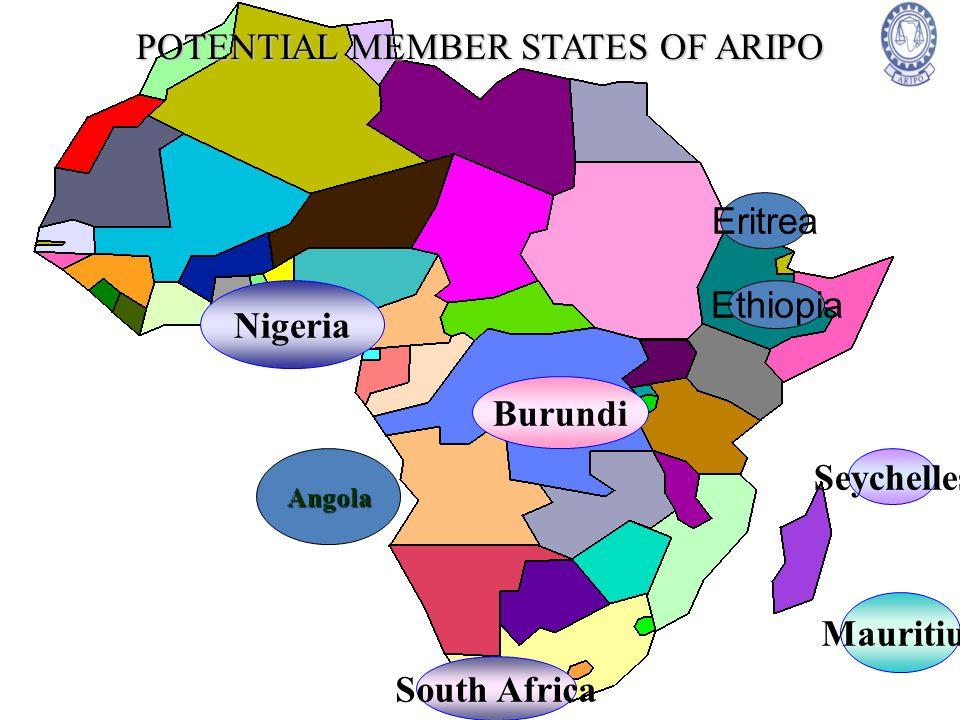 POTENTIAL MEMBER STATES OF ARIPO