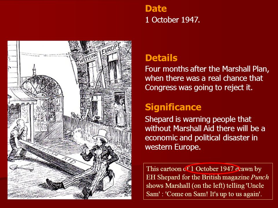 Date Details Significance 1 October 1947.
