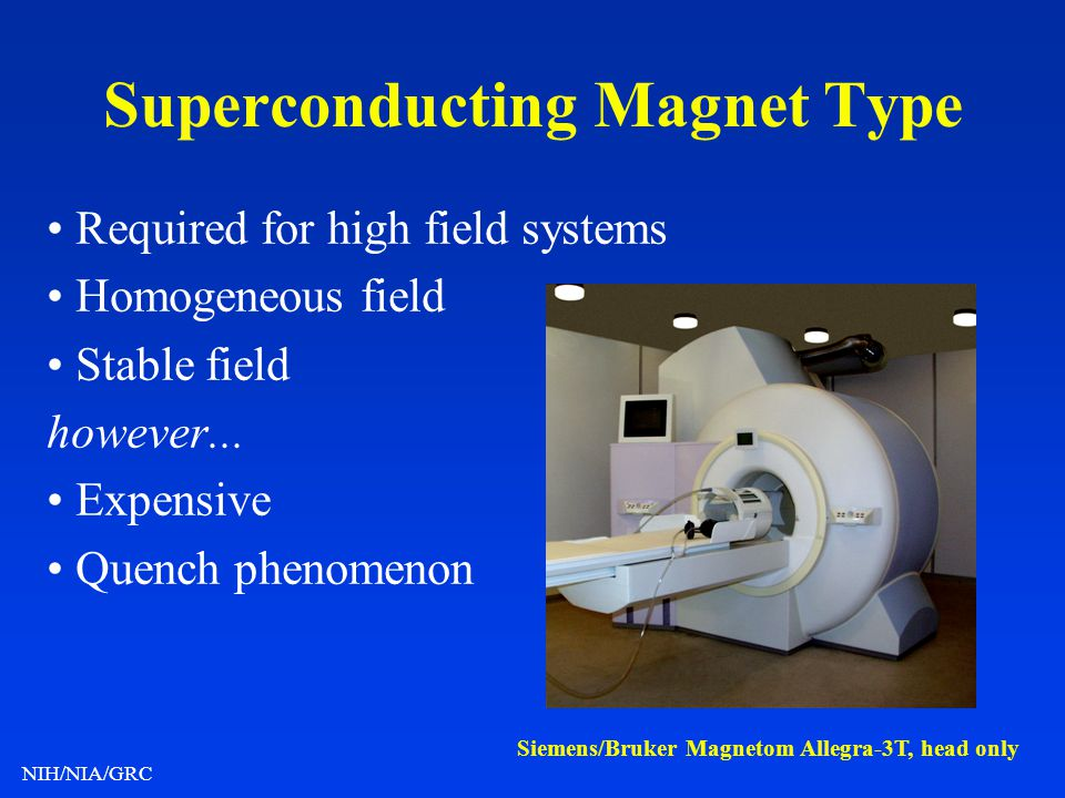 Superconducting Magnet Type