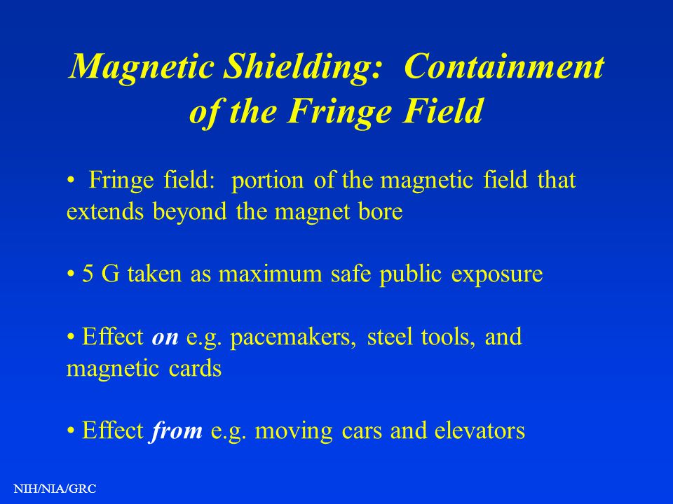 Magnetic Shielding: Containment of the Fringe Field