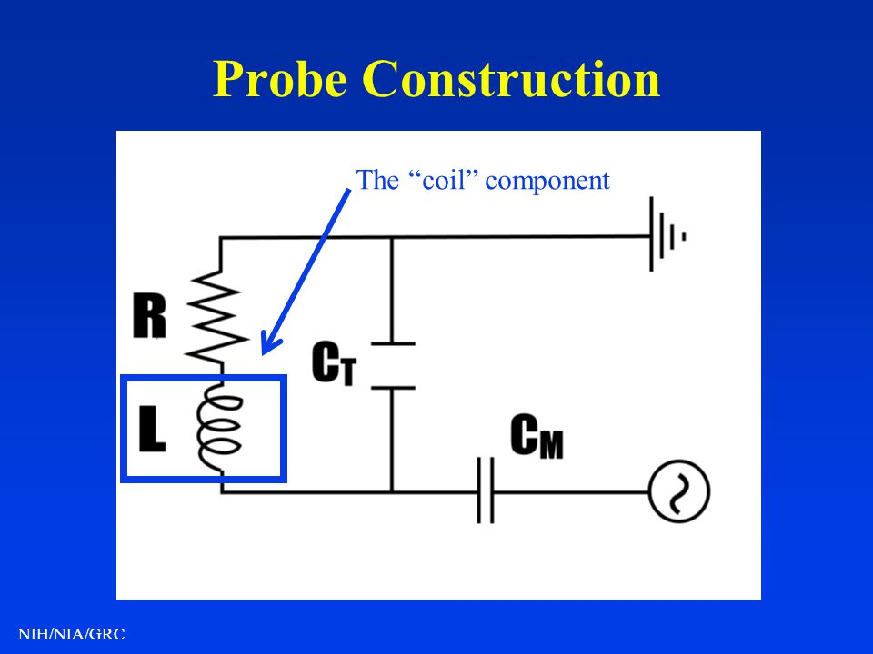 Probe Construction The coil component