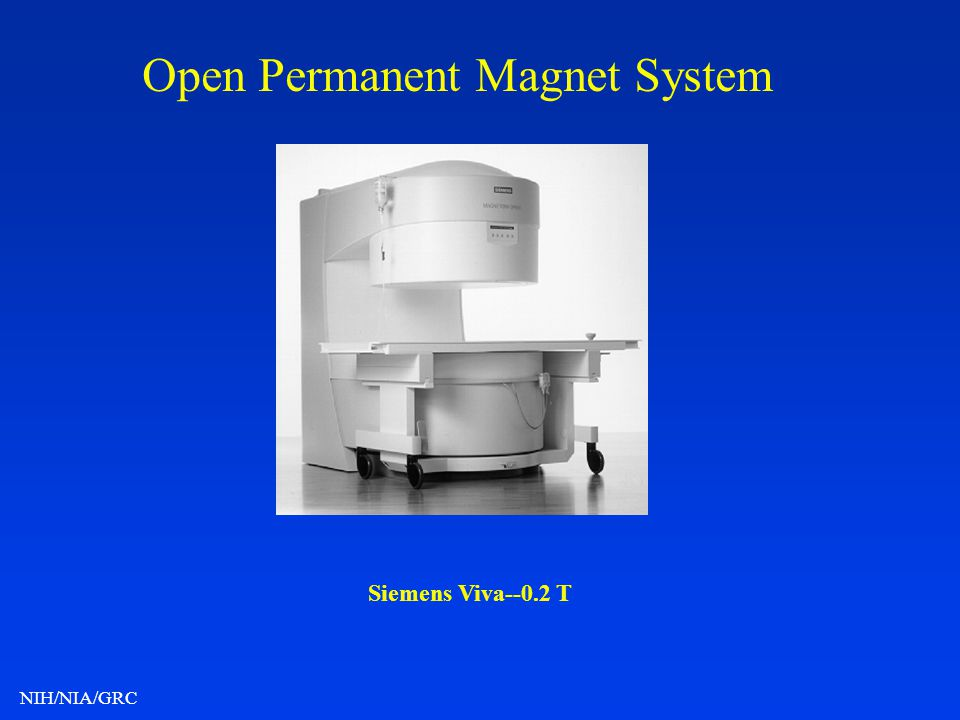 Open Permanent Magnet System