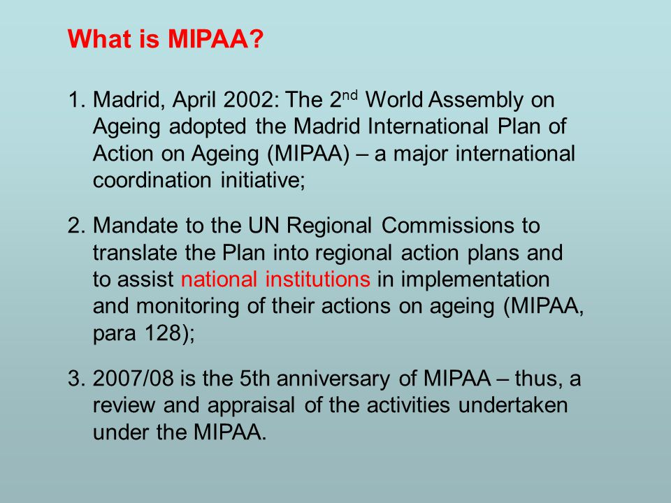 What is MIPAA