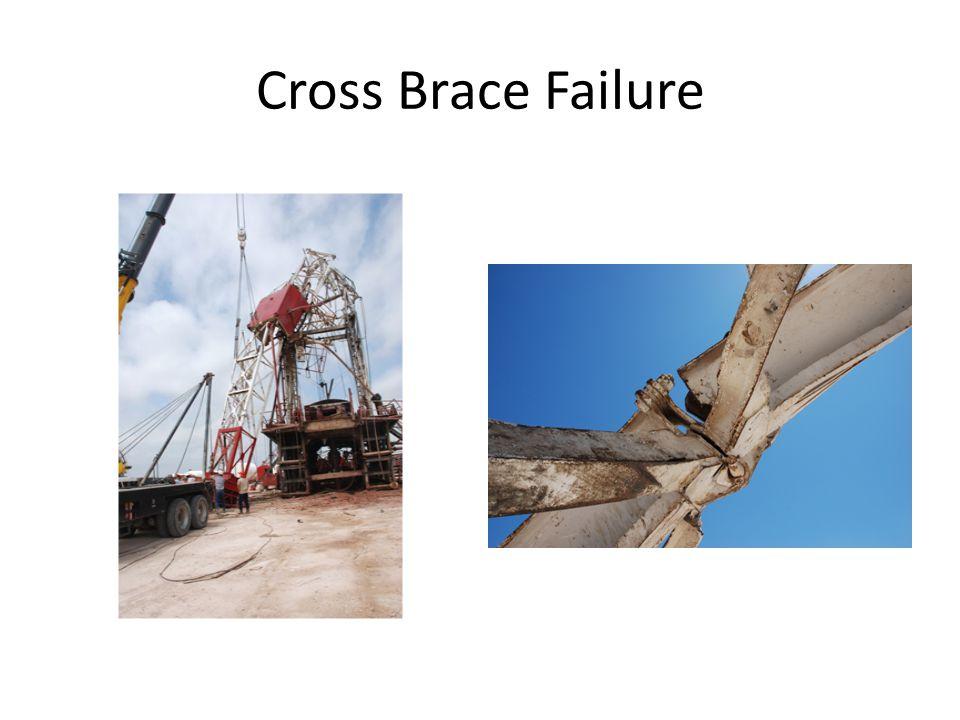 Cross Brace Failure