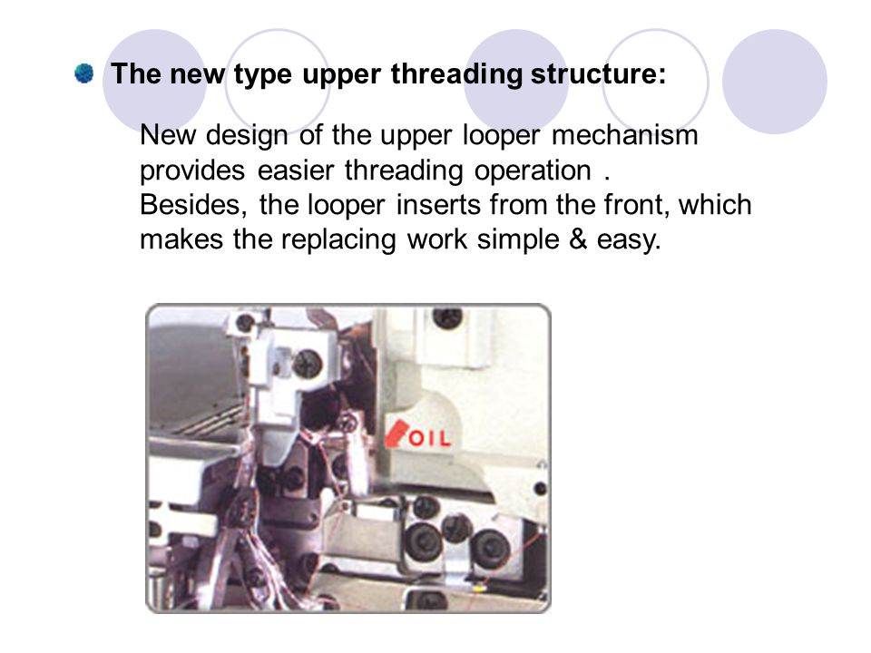 The new type upper threading structure: