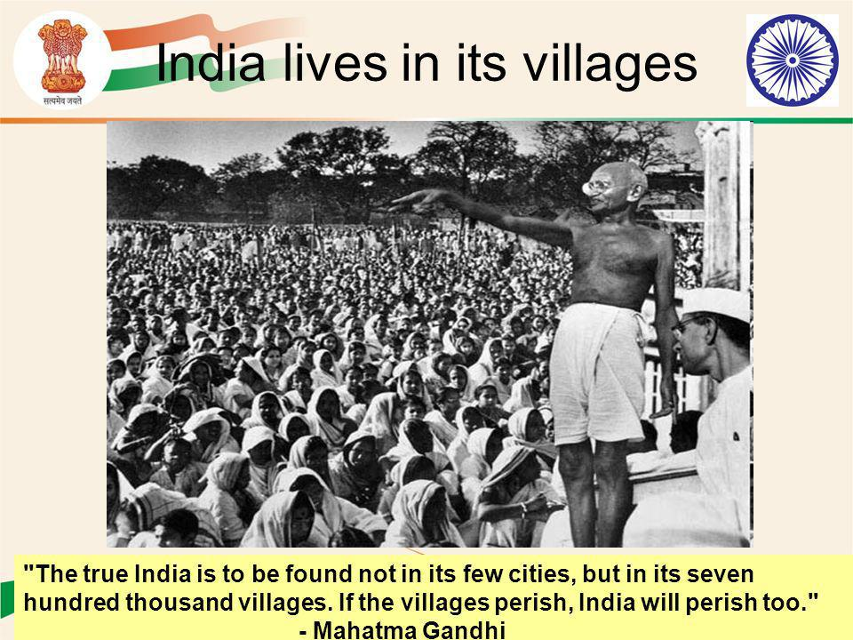 India lives in its villages