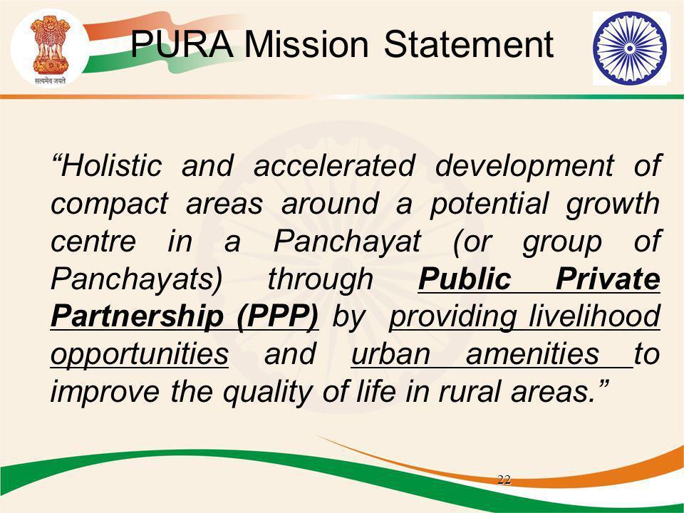 PURA Mission Statement