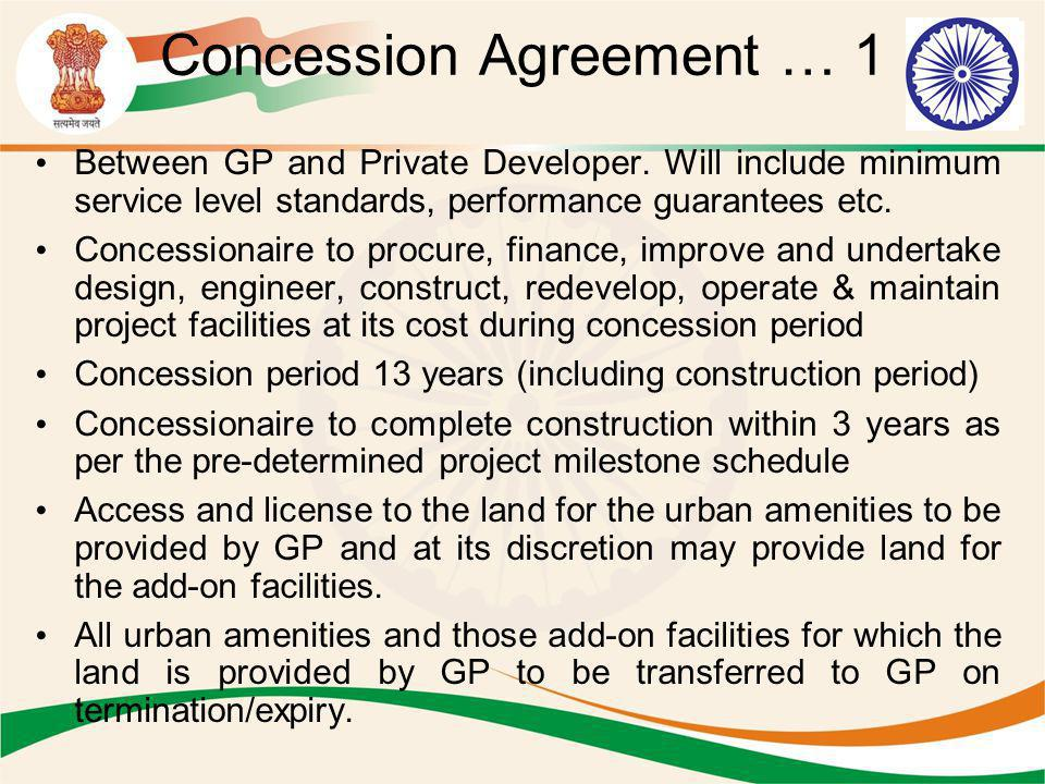 Concession Agreement … 1