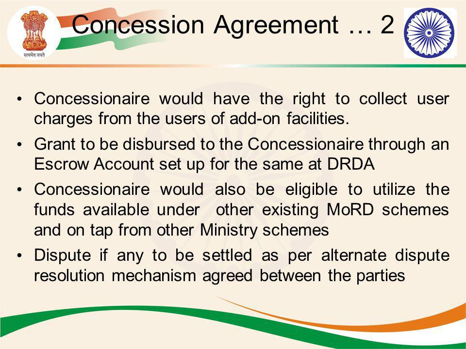 Concession Agreement … 2