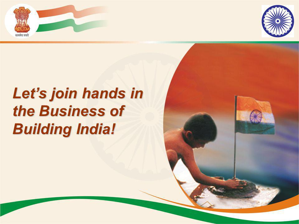 Let's join hands in the Business of Building India!