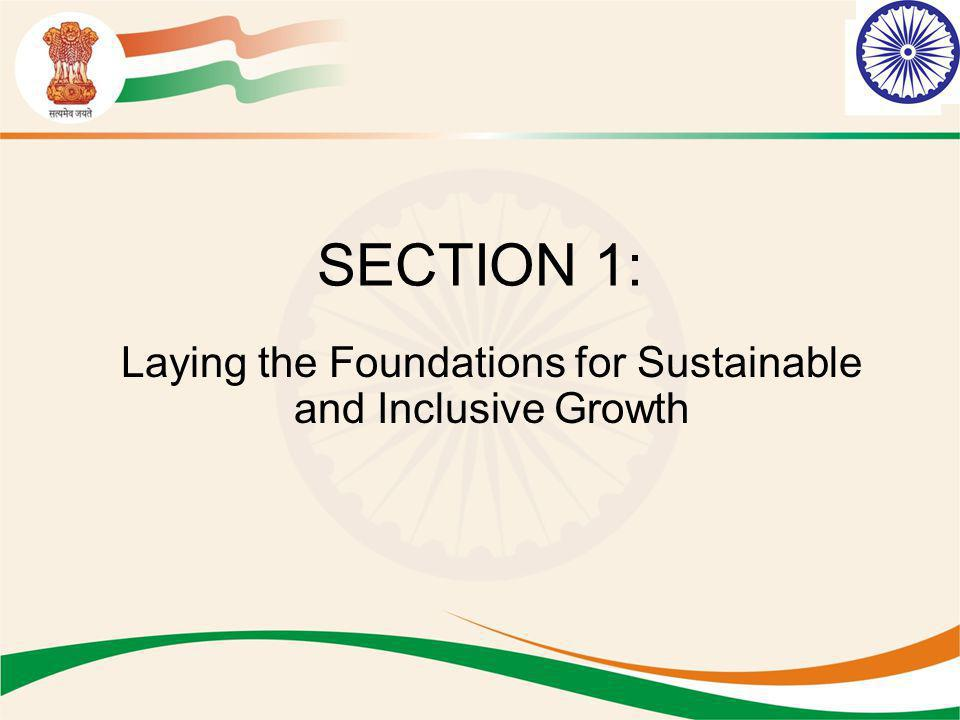 Laying the Foundations for Sustainable and Inclusive Growth