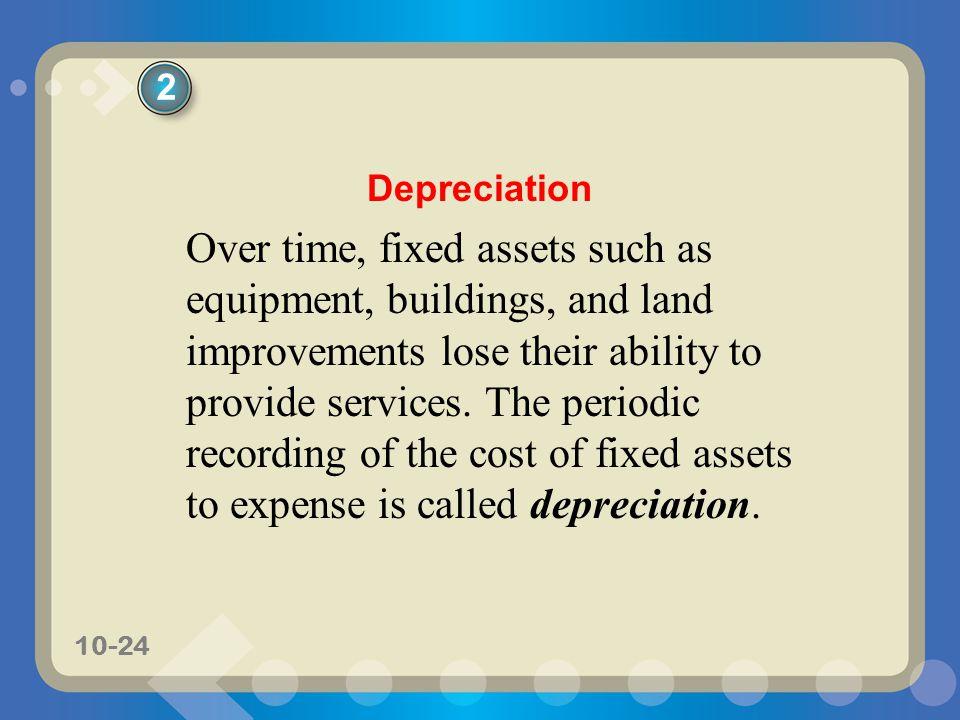 2 Depreciation.