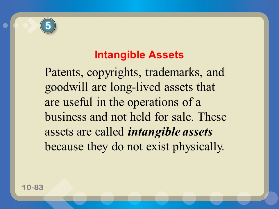 5 Intangible Assets.
