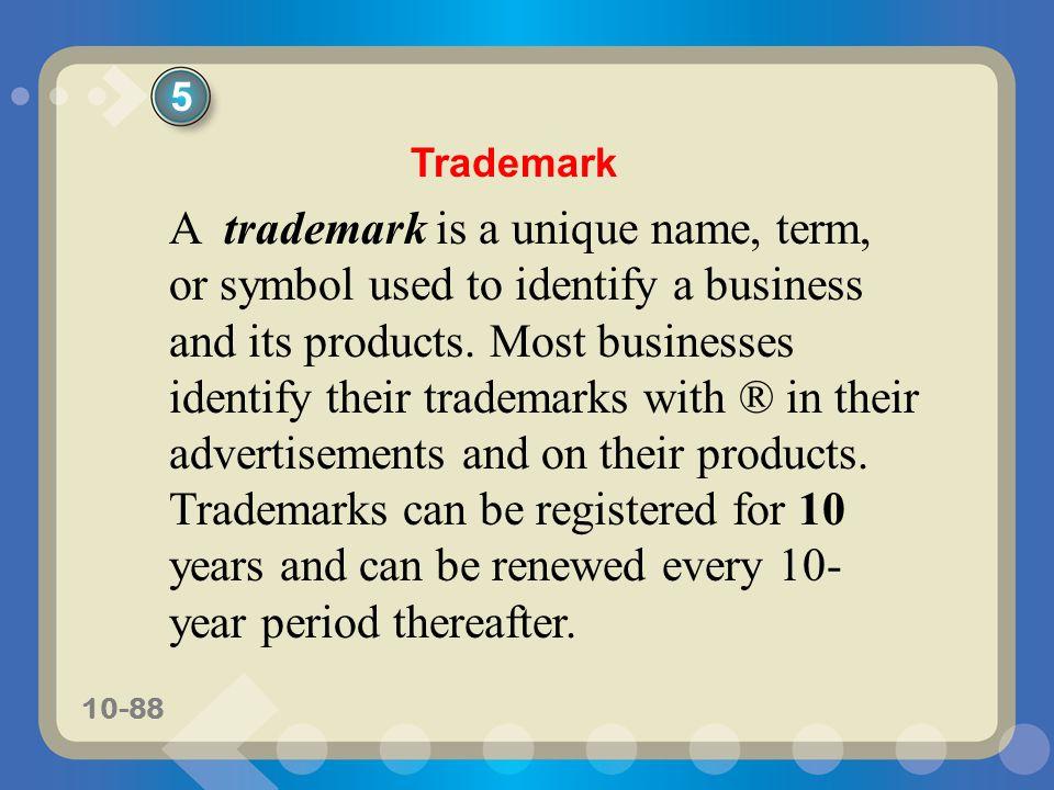 5 Trademark.