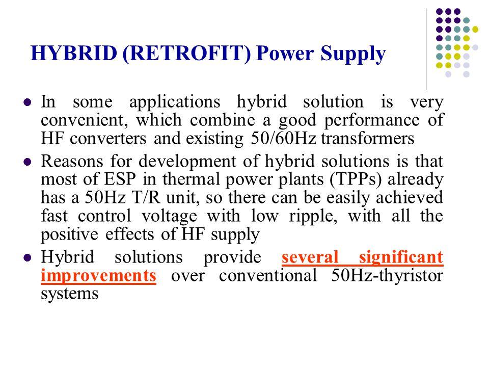 HYBRID (RETROFIT) Power Supply