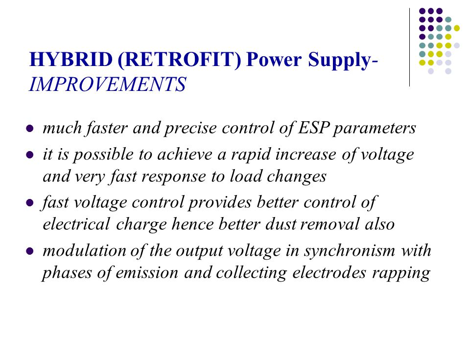HYBRID (RETROFIT) Power Supply-IMPROVEMENTS