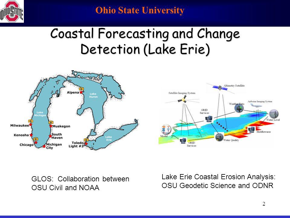 Coastal Forecasting and Change Detection (Lake Erie)