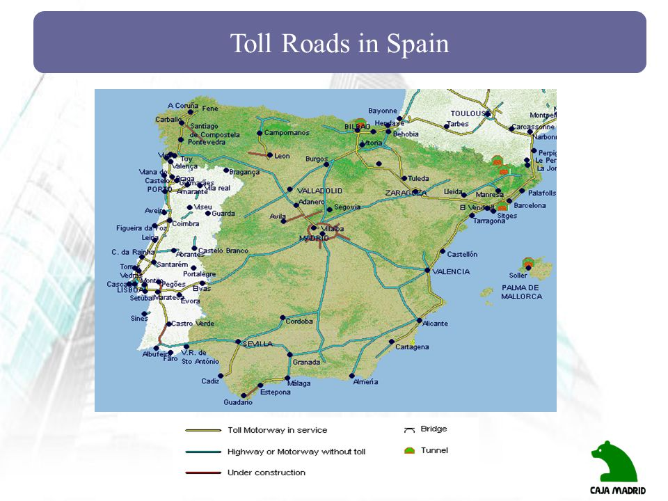 Toll Roads in Spain