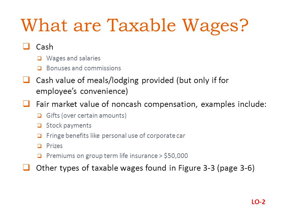What are Taxable Wages Cash