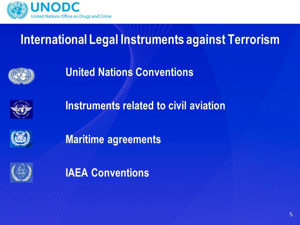 International Legal Instruments against Terrorism