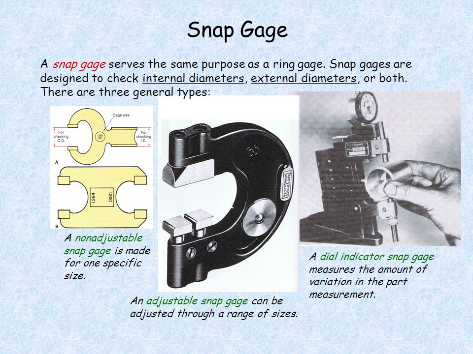 Snap Gage