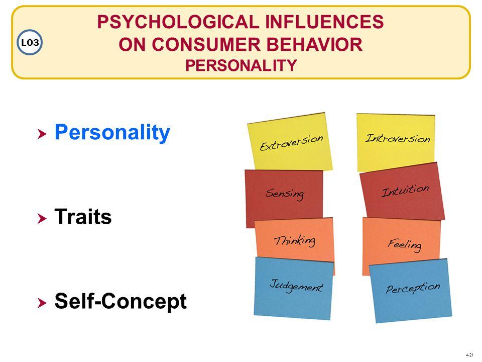 PSYCHOLOGICAL INFLUENCES ON CONSUMER BEHAVIOR