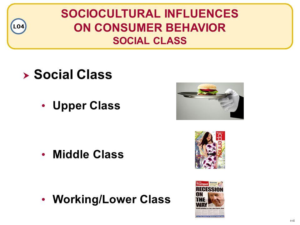 SOCIOCULTURAL INFLUENCES ON CONSUMER BEHAVIOR