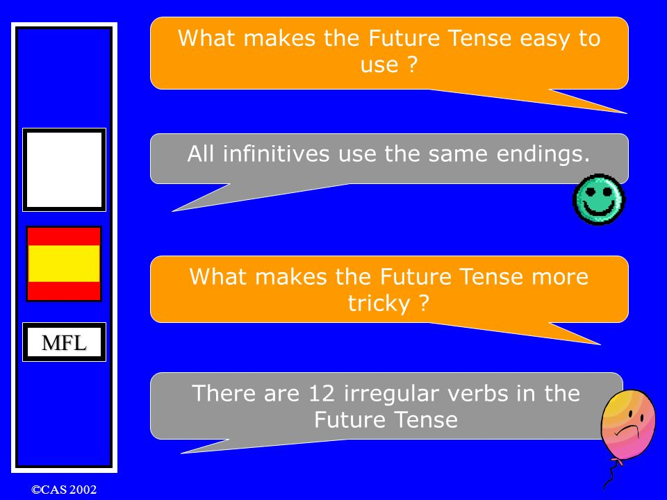 What makes the Future Tense easy to use