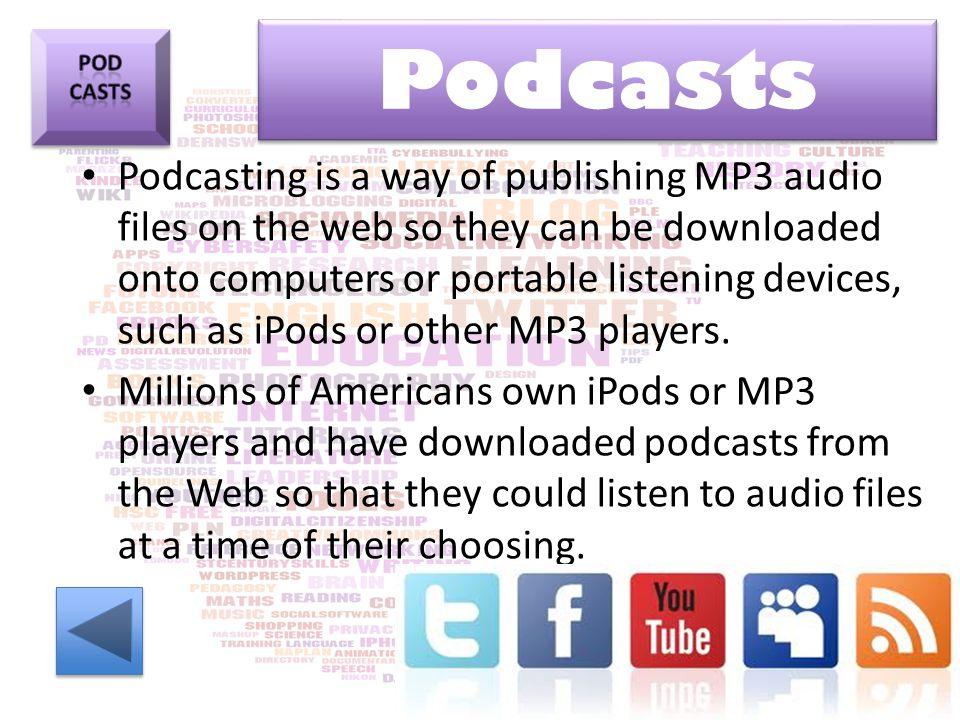 Podcasts Pod. casts.