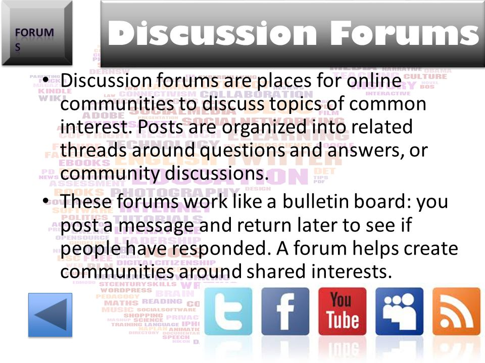 Forums Discussion Forums.