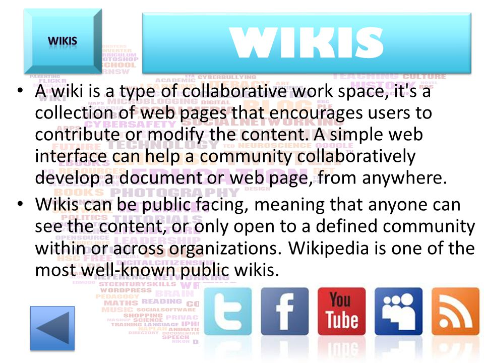 Wikis WIKIS.