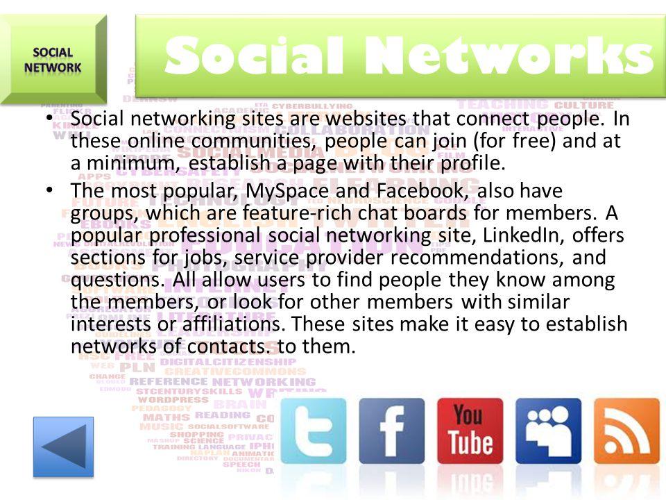 Social NEtwork. Social Networks.