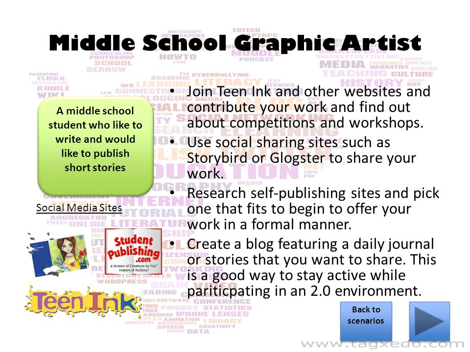 Middle School Graphic Artist