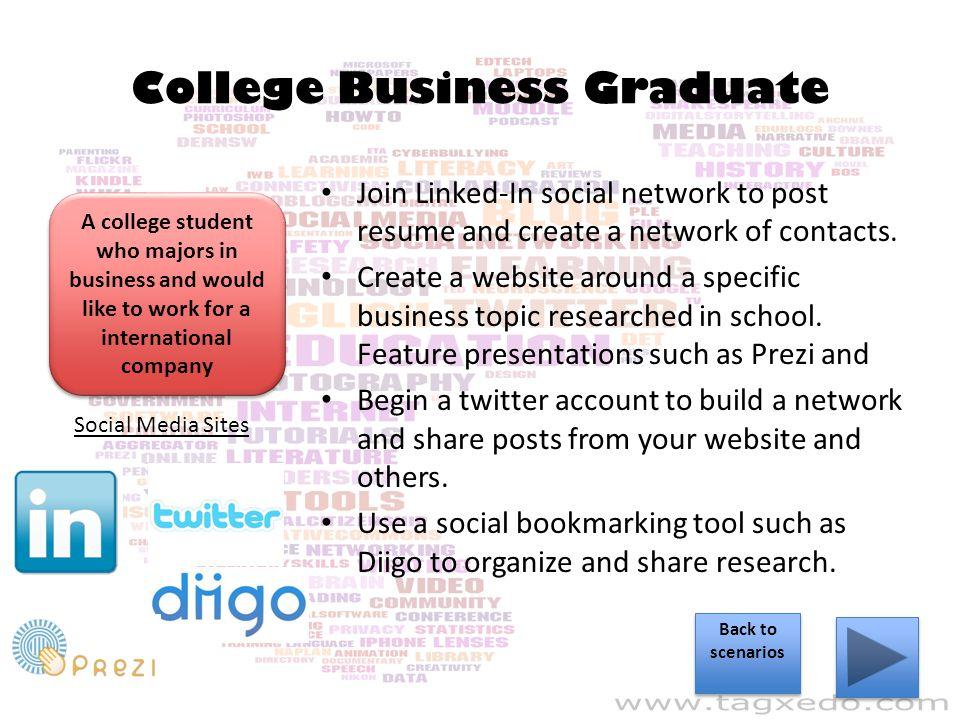 College Business Graduate