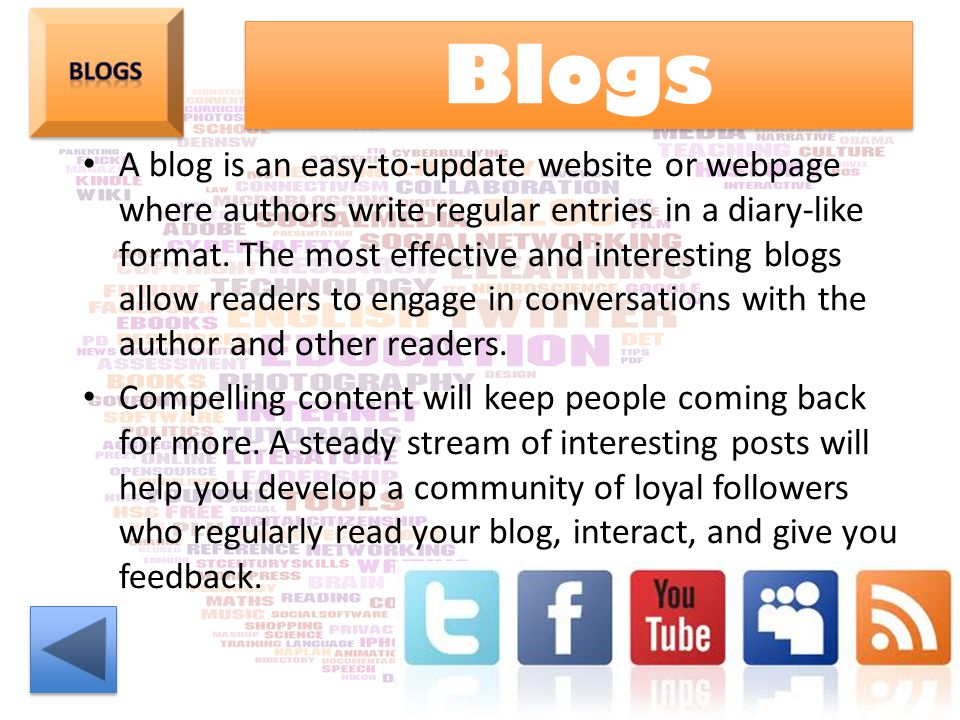 Blogs Blogs.