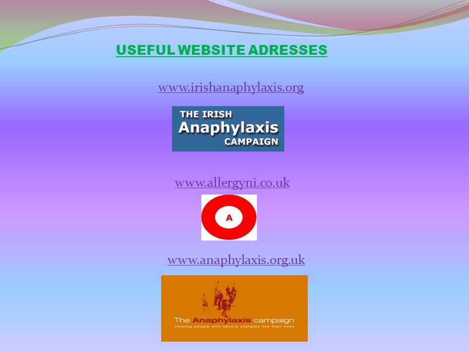 USEFUL WEBSITE ADRESSES