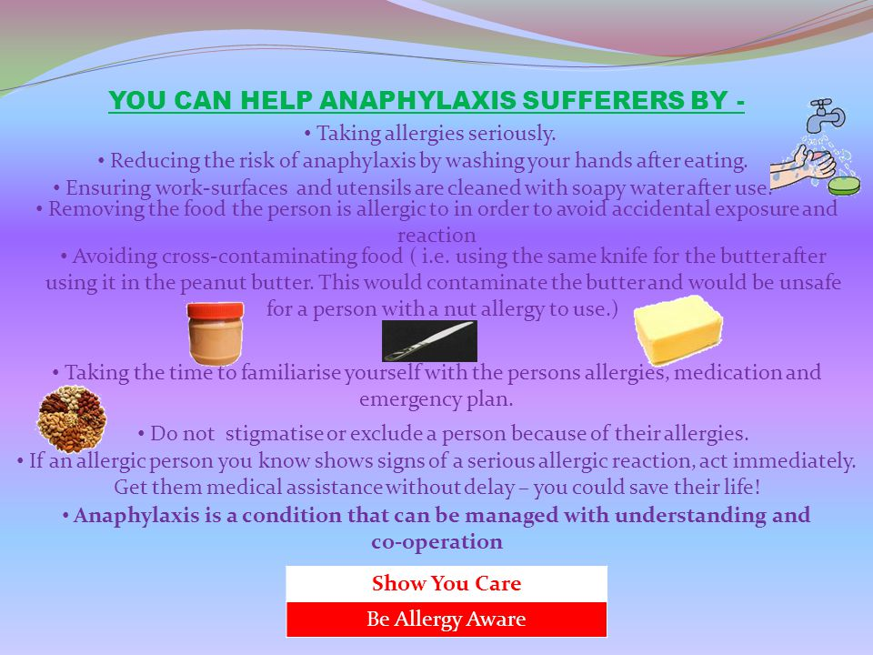Anaphylaxis is a condition that can be managed with understanding and