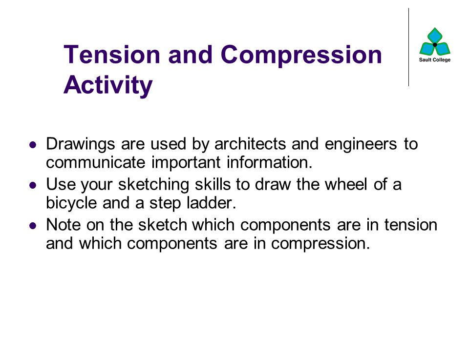 Tension and Compression Activity