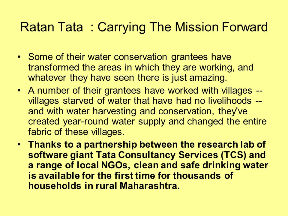 csr of tata Tata csr protocol is developed as a step to deepen the institutionalization of social responsibility.