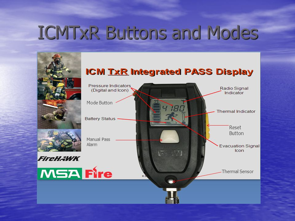 ICMTxR Buttons and Modes