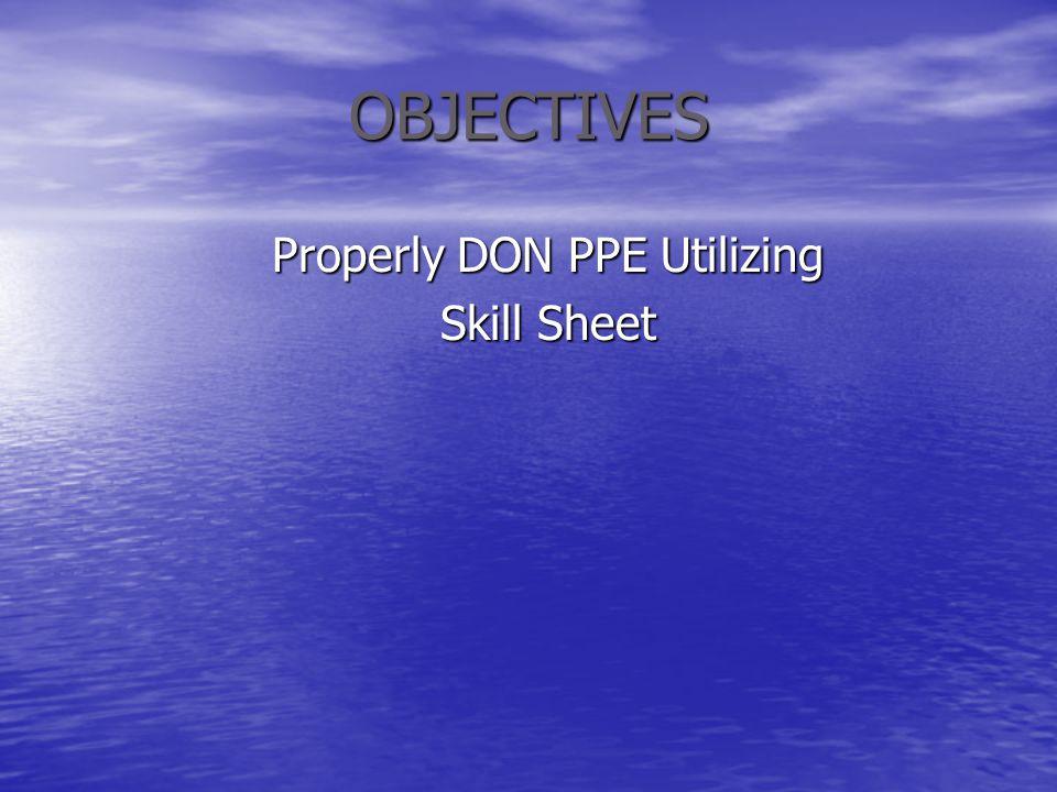 Properly DON PPE Utilizing