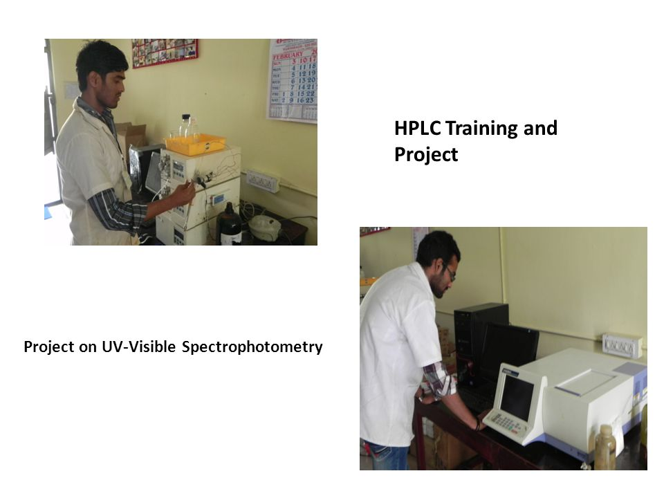 HPLC Training and Project