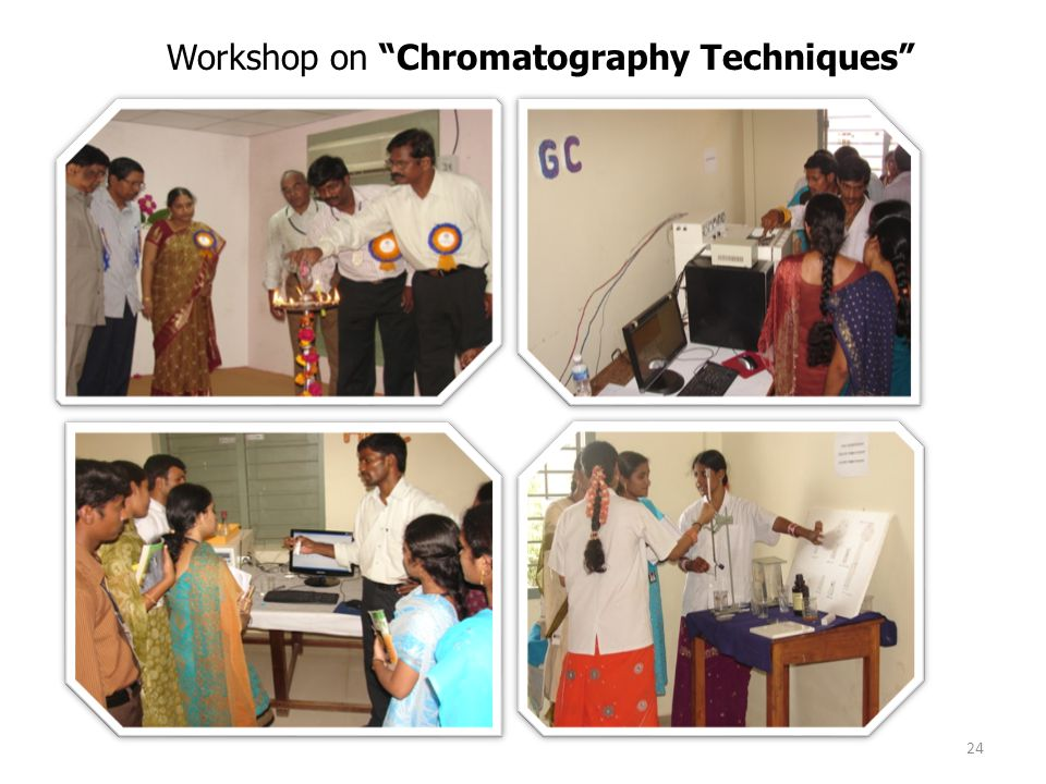 Workshop on Chromatography Techniques